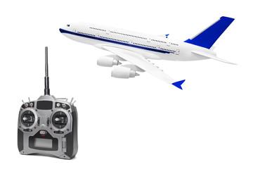 RC plane and radio remote control