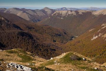 Montagne laziali in autunno