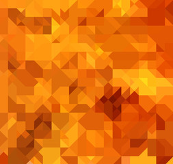 Yellow Square Abstract Background