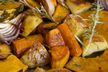 Rustic Baked Vegetables