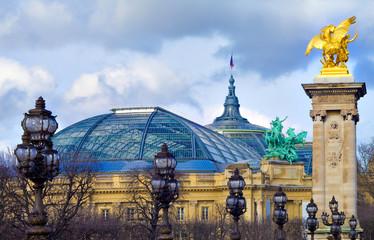 Grand palais et Pont Alexandre 3, Paris