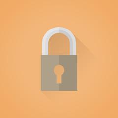 Lock symbol icon