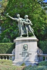 Memorial of Albert Thys in Coinquantenaire Parc