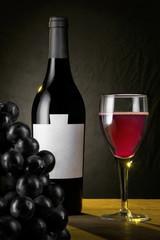 Vino Nero ( Composizione Verticale )