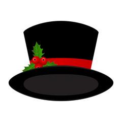Christmas black hat