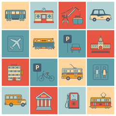 City Infrastructure Icons
