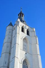 White belfry of Saint Antonius church