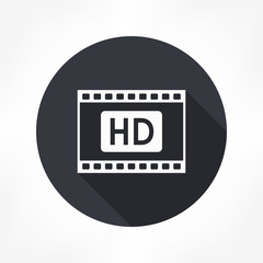 film strips hd icon