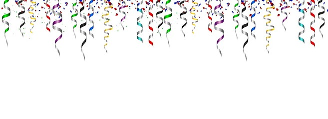 Birthday background with ribbon for you design