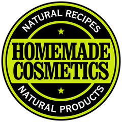 homemade cosmetics label