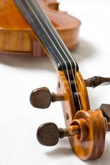 Violine - Geige - Schnecke
