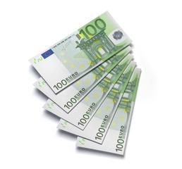 100 Euro Fächer 3