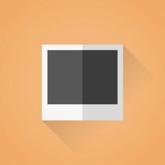 Flat photo frame