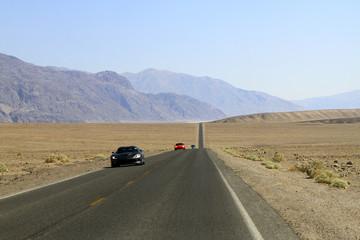 voiture à Death Valley