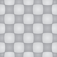 Gray tile seamless pattern background. Vector