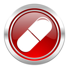 drugs icon, medical sign