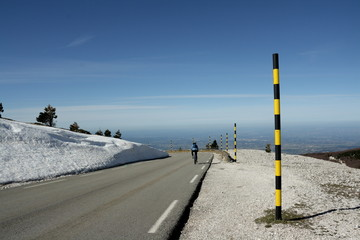 Cycliste, Mont ventoux
