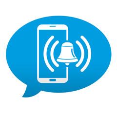 Etiqueta comentario smartphone alarma