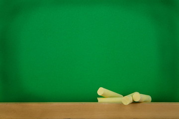 green black-board