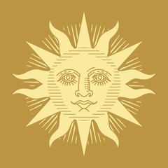 sunlight engraving