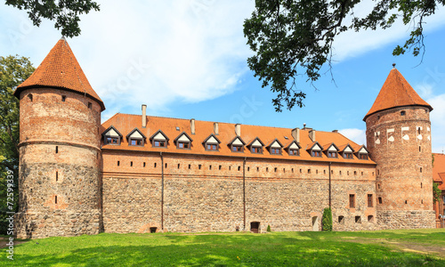 The Castle of Teutonic Order in Bytow, Poland - 72599339