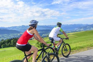genußvolle Mountainbike-Tour
