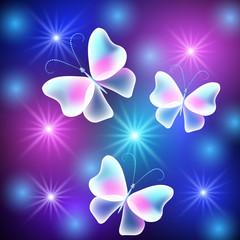 Butterflies and stars