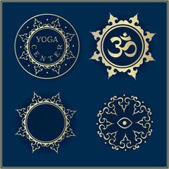 golden yoga templates