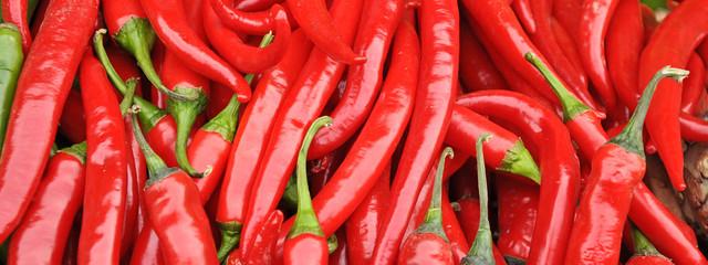 roter paprika - chilli