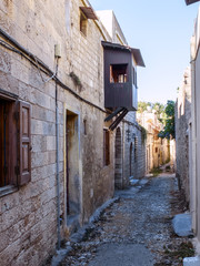 Old Narrow Street in Rhodes town