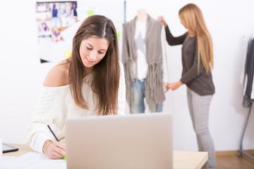 attractive females fashion designers