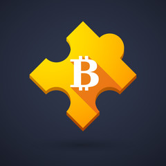 Puzzle piece icon with a currency sign