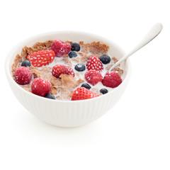 Fiber cereal bowl