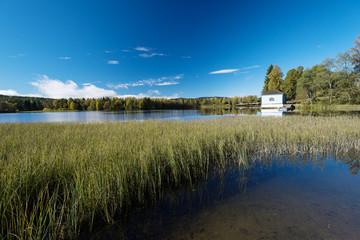 Autumn lakes at Norway house