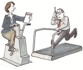 Overworked Business Executives, Work Life Balance