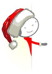 Noël panneau 01