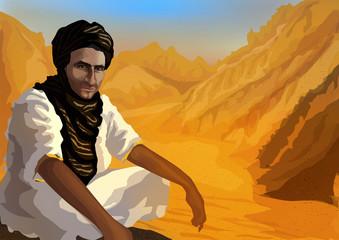 Desert beduin