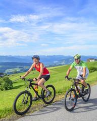 Radtour mit Aussicht