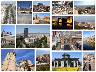 Spain collage