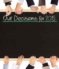 Decisions list