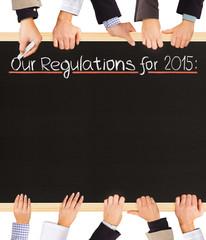 Regulations list