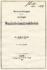 Book of Robert Koch