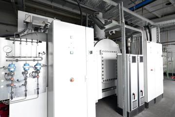 Maschinen der Verfahrenstechnik in einem Industriebetrieb