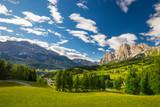 View to Dolomites mountains, Italy Europe
