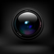 Camera lens. Vector - 72608723