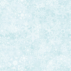 seamless abstract snowflake background
