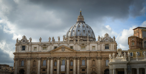 The Papal Basilica of Saint Peter in the Vatican (Basilica Papal