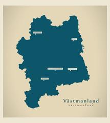 Modern Map - Västmanland SE