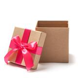 Open Present Box - Stock Photo