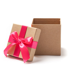 Open Present Box - Stock Photo